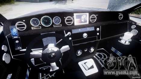 Rolls Royce Phantom Sapphire Limousine Disco for GTA 4 back view