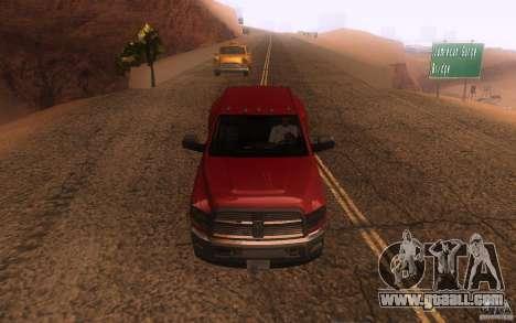 Dodge Ram 3500 Laramie 2010 for GTA San Andreas side view