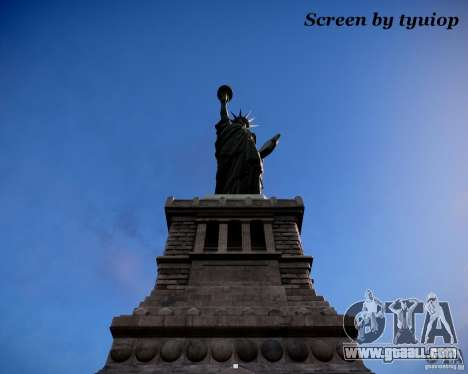 New Statue of Liberty for GTA 4 second screenshot