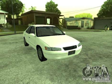 Toyota Camry 2.2 LE for GTA San Andreas back view