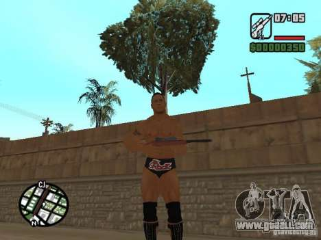 The rock for GTA San Andreas second screenshot