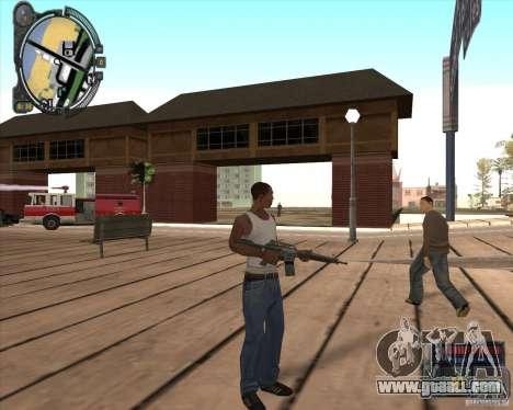 S.T.A.L.K.E.R. Call of Pripyat HUD for SA v1.0 for GTA San Andreas