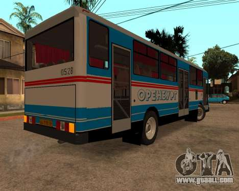Autosan H10-11B full Orenburg stickers for GTA San Andreas right view