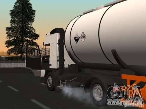Volvo FM12 for GTA San Andreas side view