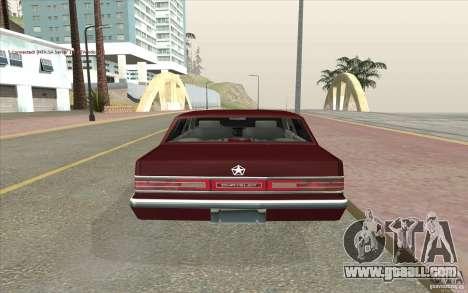 Chrysler Dynasty for GTA San Andreas back left view