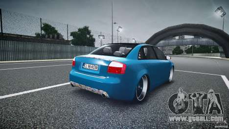 Audi S4 Custom for GTA 4 side view