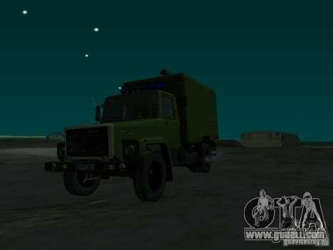 GAZ 3309 paddy wagon for GTA San Andreas right view