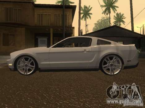 Ford Mustang 2011 GT for GTA San Andreas left view