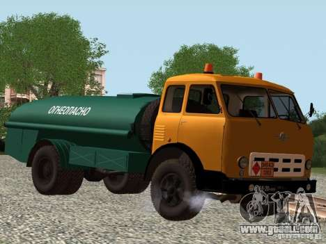 MAZ TK-7, 5-500A for GTA San Andreas left view
