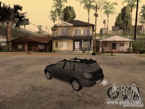 Mitsubishi Outlander 2003 for GTA San Andreas left view