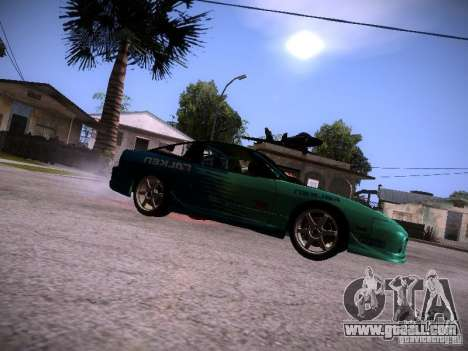 Nissan 200SX Falken Tire for GTA San Andreas left view