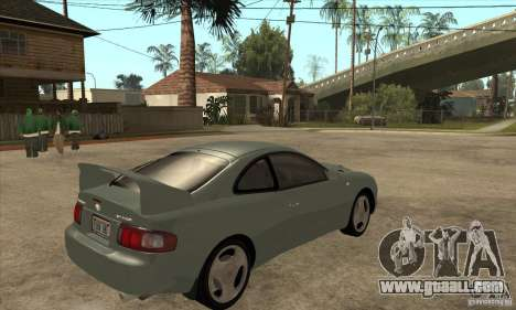 Toyota Celica GT-Four for GTA San Andreas right view