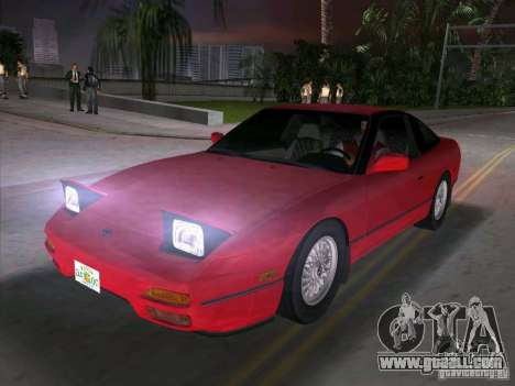 Nissan 200SX for GTA Vice City right view