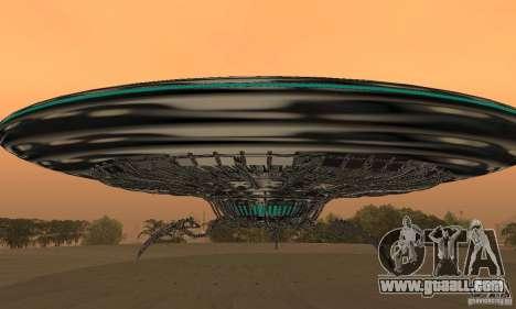 UFO for GTA San Andreas