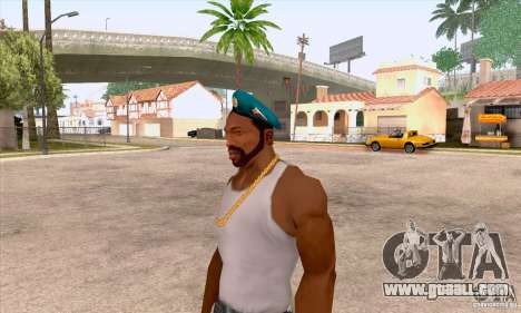 AIRBORNE beret for GTA San Andreas third screenshot