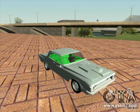Plymouth Savoy 1962 for GTA San Andreas back left view