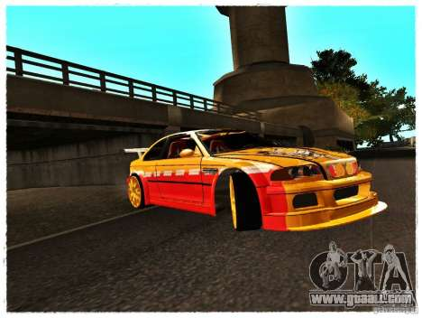 BMW M3 Calibri-Ace for GTA San Andreas left view
