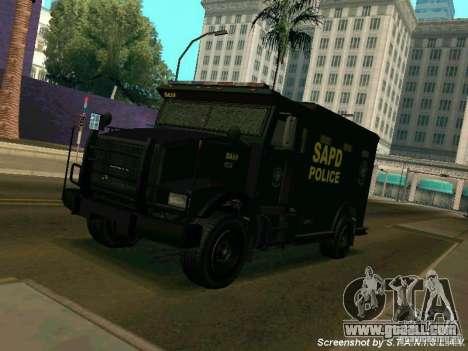 Stokade SAPD SWAT Van for GTA San Andreas