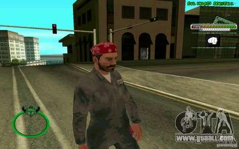 Mechanik HD Skin for GTA San Andreas second screenshot