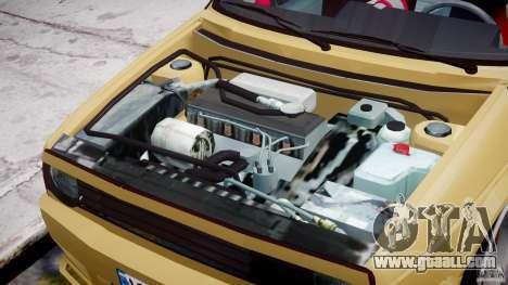 Volkswagen Golf MK2 Tuning for GTA 4 inner view