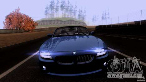 BMW Z4 V10 for GTA San Andreas left view