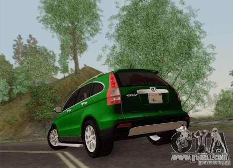 Honda CRV 2011 for GTA San Andreas right view