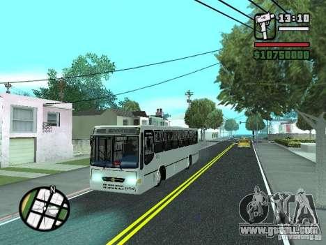 Busscar Urbanus SS Volvo B10M for GTA San Andreas