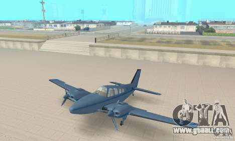 Beechcraft Baron 58 T for GTA San Andreas