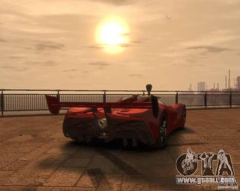 Mazda Furai for GTA 4 left view
