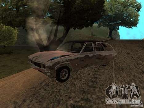 Ford Cortina MK 3 2000E for GTA San Andreas inner view