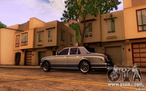 Bentley Arnage R 2005 for GTA San Andreas left view