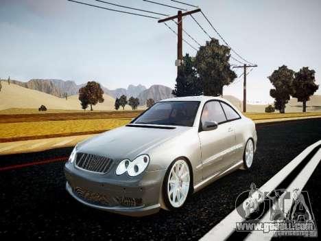 Mercedes-Benz CLK63 AMG Final for GTA 4