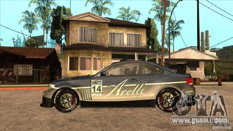 BMW 135i Coupe GP Edition Skin 3 for GTA San Andreas left view