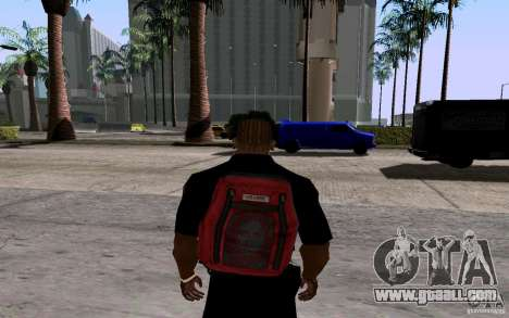The new parachute for GTA San Andreas third screenshot