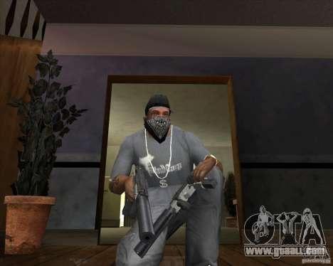 Ingram MAC-10 of counter-strike for GTA San Andreas