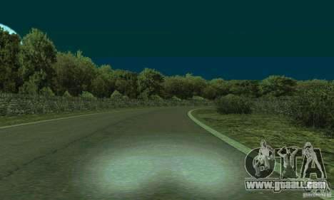 The rally route for GTA San Andreas third screenshot