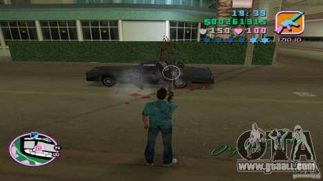 Shooting With One Hand for GTA Vice City fifth screenshot