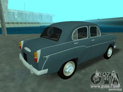 Moskvich 407 for GTA San Andreas right view