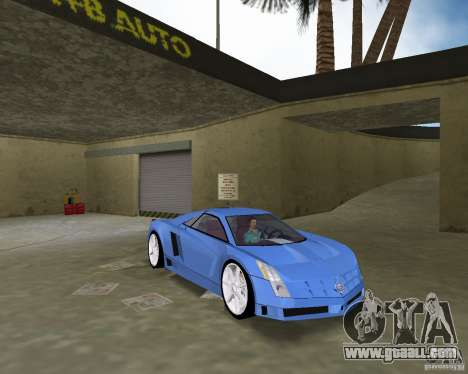 Cadillac Cien for GTA Vice City right view