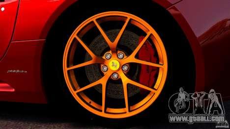Ferrari California Novitec for GTA 4 bottom view
