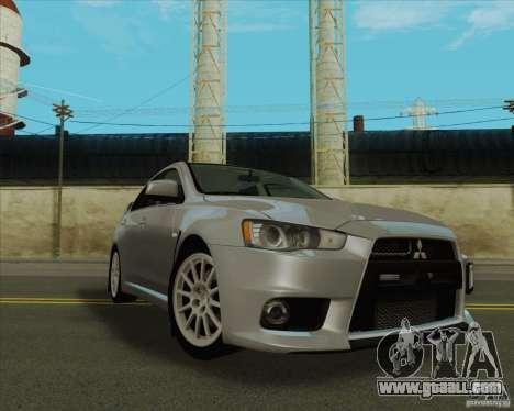 New Playable ENB Series for GTA San Andreas