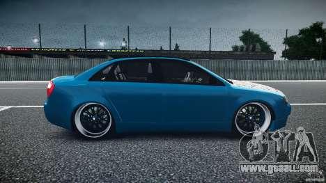 Audi S4 Custom for GTA 4 inner view