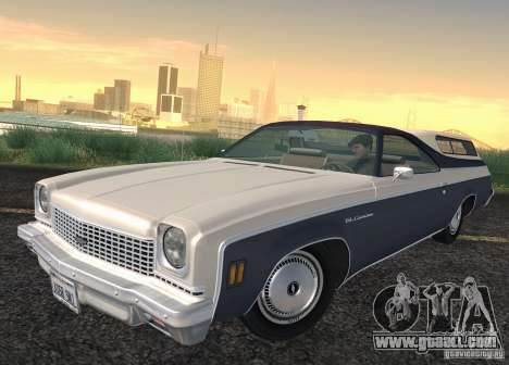 Chevrolet El Camino 1973 for GTA San Andreas