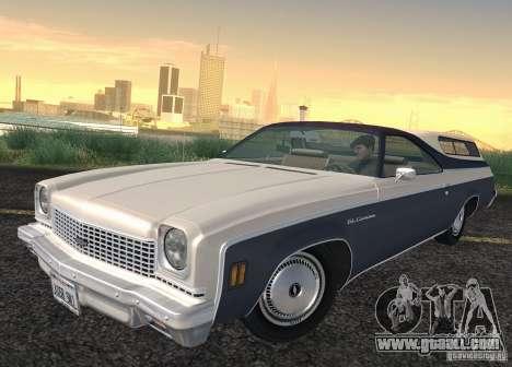 Chevrolet El Camino 1973 for GTA San Andreas