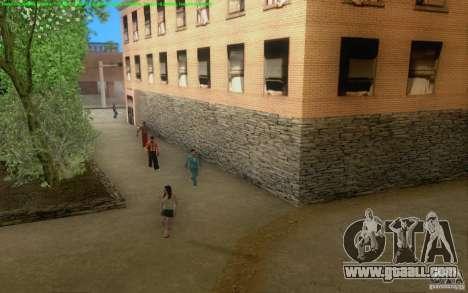 Concrete roads of Los Santos Beta for GTA San Andreas sixth screenshot