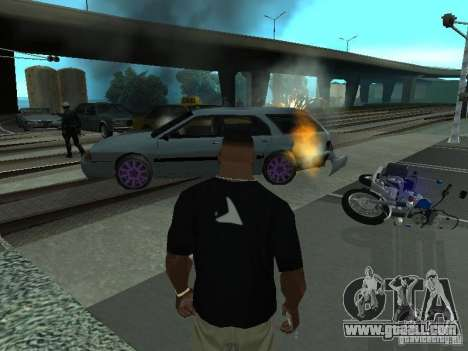 The realistic blast machines for GTA San Andreas forth screenshot