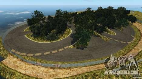 Bihoku Drift Track v1.0 for GTA 4 forth screenshot