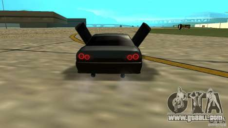 Elegy MIX V.1 for GTA San Andreas back left view