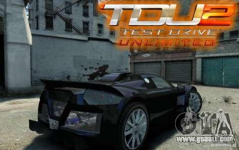 Gumpert Apollo Sport for GTA 4 right view
