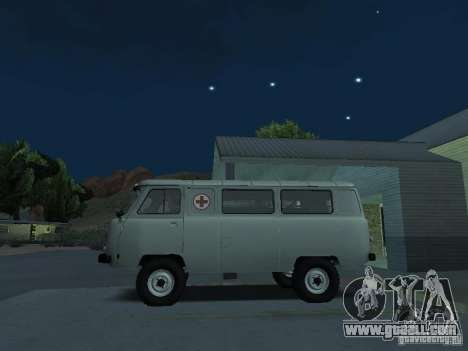 UAZ 451A for GTA San Andreas left view